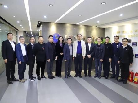 政商交流 | 黑龙江省人民政府办公厅领导赴bwin下载座谈交流